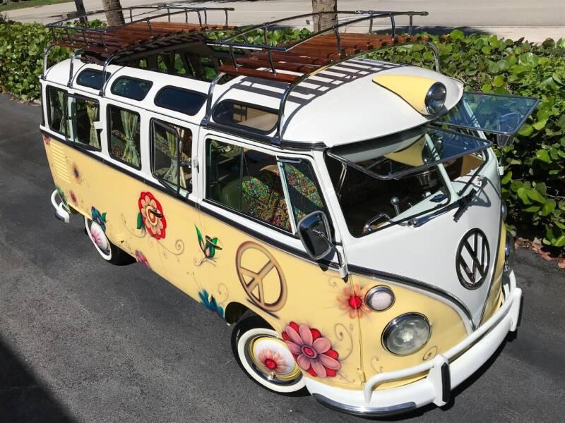 1975 Volkswagen Vanagon Deluxe Samba Camper - Boca Raton FL