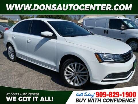 2016 Volkswagen Jetta for sale at Dons Auto Center in Fontana CA