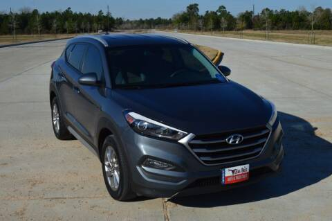 2018 Hyundai Tucson for sale at Fincher's Texas Best Auto & Truck Sales in Tomball TX