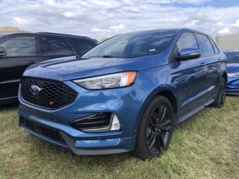 2019 Ford Edge for sale at Monster Motors in Michigan Center MI