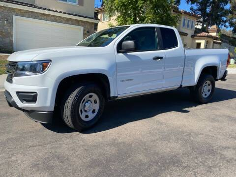 2019 Chevrolet Colorado for sale at CALIFORNIA AUTO GROUP in San Diego CA