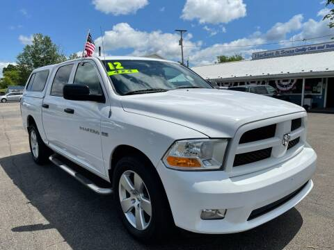 2012 RAM Ram Pickup 1500 for sale at HACKETT & SONS LLC in Nelson PA