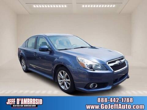 2013 Subaru Legacy for sale at Jeff D'Ambrosio Auto Group in Downingtown PA