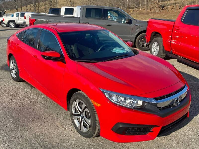 2017 Honda Civic for sale at Griffith Auto Sales in Home PA