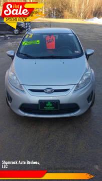 2012 Ford Fiesta for sale at Shamrock Auto Brokers, LLC in Belmont NH