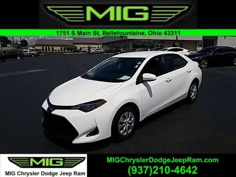 2019 Toyota Corolla for sale at MIG Chrysler Dodge Jeep Ram in Bellefontaine OH