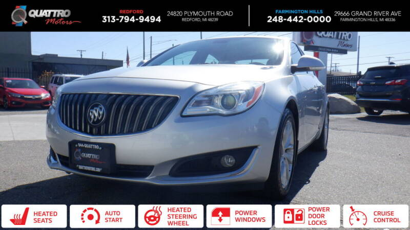 2014 Buick Regal for sale at Quattro Motors 2 in Farmington Hills MI