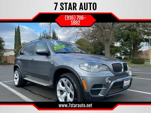 2012 BMW X5 for sale at 7 STAR AUTO in Sacramento CA