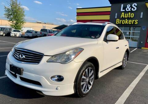 2011 Infiniti EX35 for sale at L & S AUTO BROKERS in Fredericksburg VA