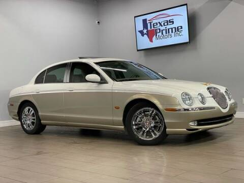2004 Jaguar S-Type for sale at Texas Prime Motors in Houston TX