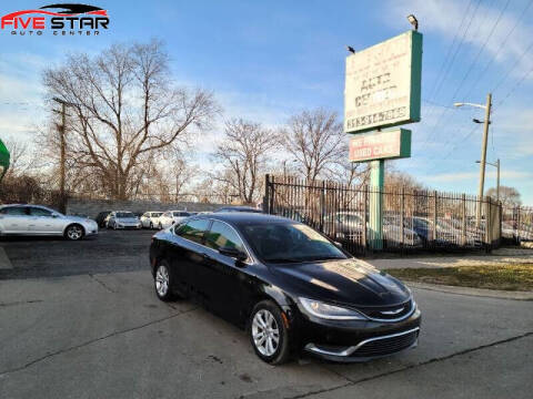 2015 Chrysler 200 for sale at Five Star Auto Center in Detroit MI
