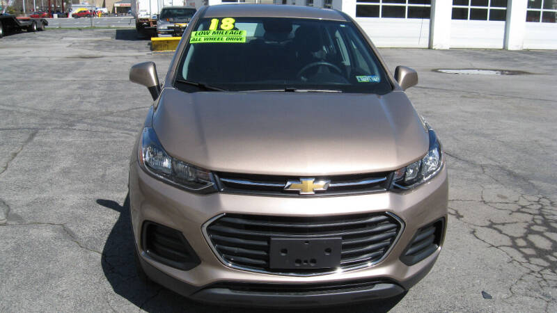 2018 Chevrolet Trax for sale at SHIRN'S in Williamsport PA