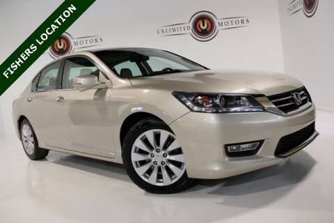 2013 Honda Accord for sale at Unlimited Motors in Fishers IN