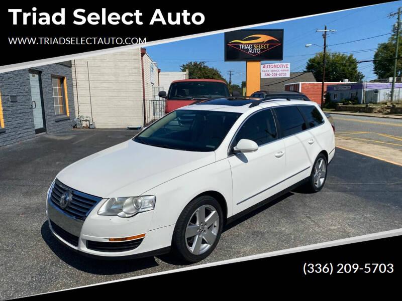 2008 Volkswagen Passat for sale at Triad Select Auto in Greensboro NC