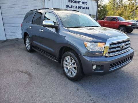 2010 Toyota Sequoia for sale at DISCOUNT AUTO SALES in Johnson City TN