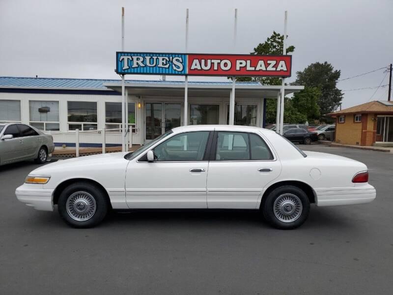 1997 Mercury Grand Marquis for sale at True's Auto Plaza in Union Gap WA