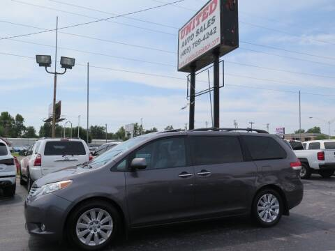 2011 Toyota Sienna for sale at United Auto Sales in Oklahoma City OK