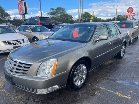 2011 Cadillac DTS for sale at RJ AUTO SALES in Detroit MI