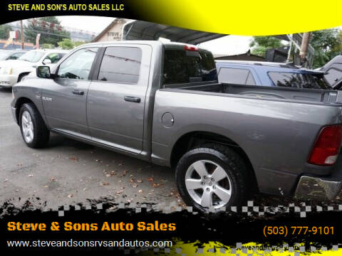 2009 Dodge Ram Pickup 1500 for sale at Steve & Sons Auto Sales in Happy Valley OR