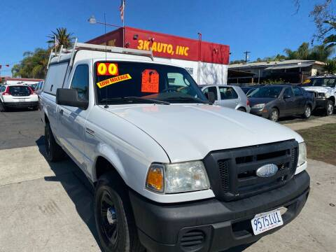 2000 Ford Ranger for sale at 3K Auto in Escondido CA