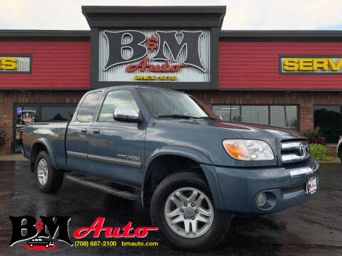 2006 Toyota Tundra for sale at B & M Auto Sales Inc. in Oak Forest IL