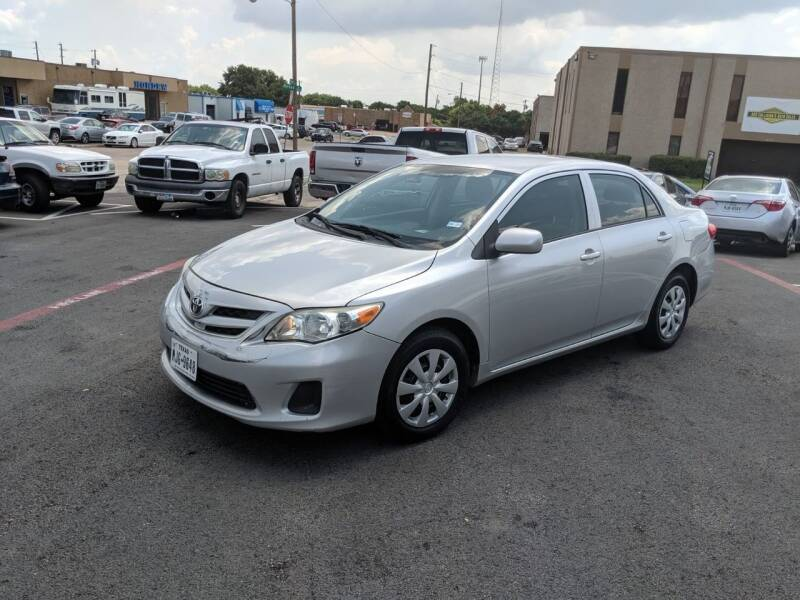 2013 Toyota Corolla for sale at Automotive Brokers Group in Plano TX