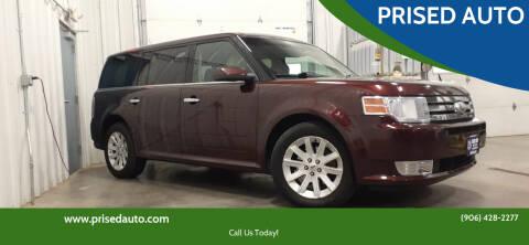 2012 Ford Flex for sale at PRISED AUTO in Gladstone MI