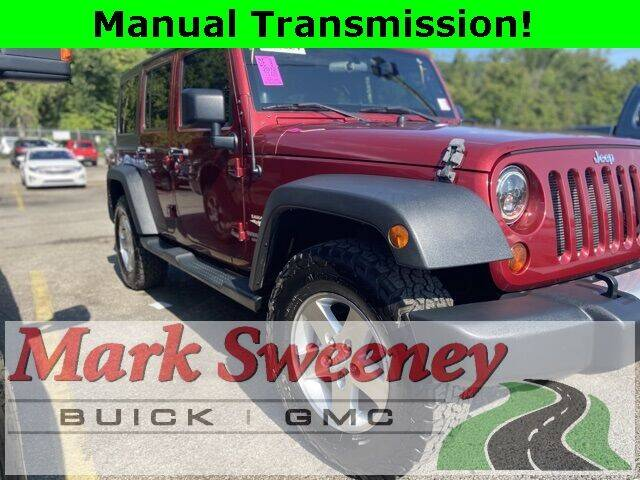 2012 Jeep Wrangler Unlimited for sale at Mark Sweeney Buick GMC in Cincinnati OH