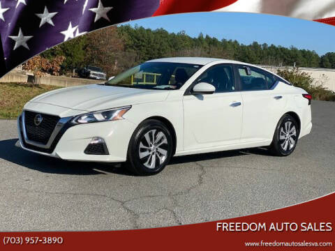 2020 Nissan Altima for sale at Freedom Auto Sales in Chantilly VA