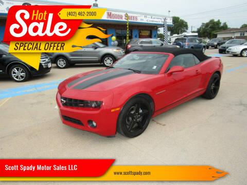 2011 Chevrolet Camaro for sale at Scott Spady Motor Sales LLC in Hastings NE