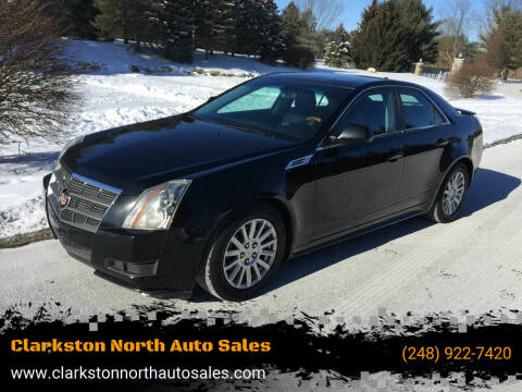 2010 Cadillac CTS for sale at Clarkston North Auto Sales in Clarkston MI