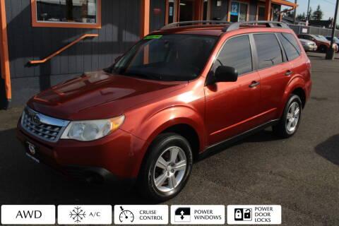 2011 Subaru Forester for sale at Sabeti Motors in Tacoma WA