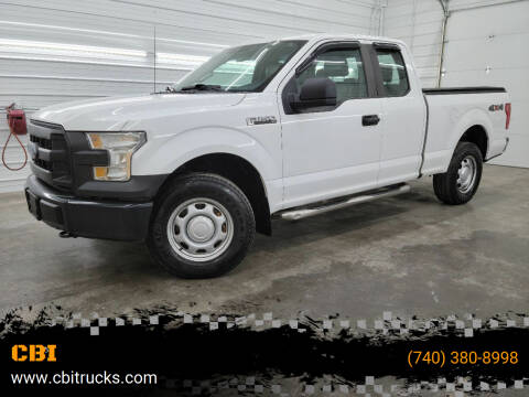 2016 Ford F-150 for sale at CBI in Logan OH