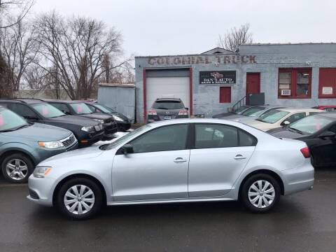 2014 Volkswagen Jetta for sale at Dan's Auto Sales and Repair LLC in East Hartford CT
