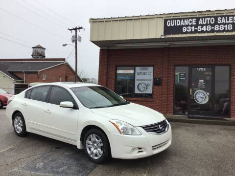 2011 Nissan Altima for sale at Guidance Auto Sales LLC in Columbia TN