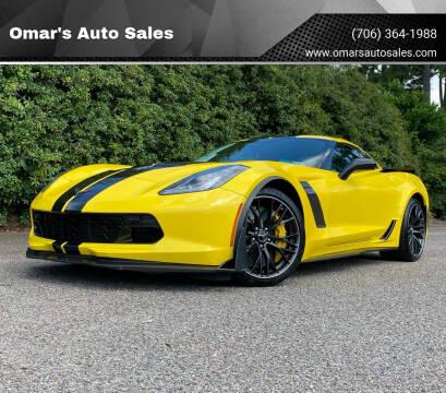 2016 Chevrolet Corvette for sale at Omar's Auto Sales in Martinez GA