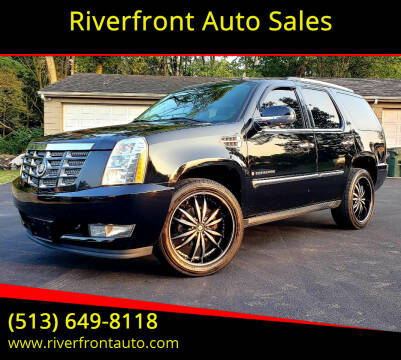 2008 Cadillac Escalade for sale at Riverfront Auto Sales in Middletown OH