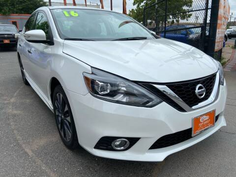 2016 Nissan Sentra for sale at TOP SHELF AUTOMOTIVE in Newark NJ