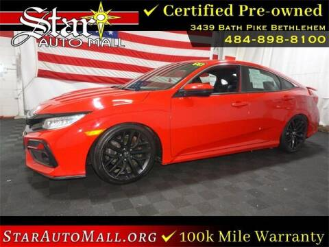 2020 Honda Civic for sale at STAR AUTO MALL 512 in Bethlehem PA