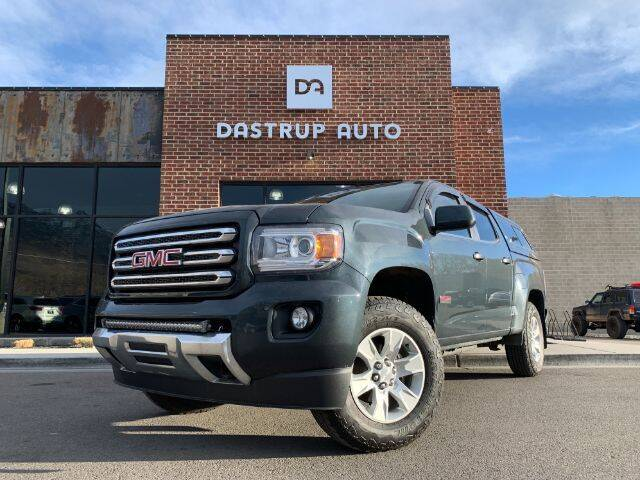 2017 GMC Canyon for sale at Dastrup Auto in Lindon UT