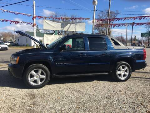 2007 Chevrolet Avalanche for sale at Antique Motors in Plymouth IN