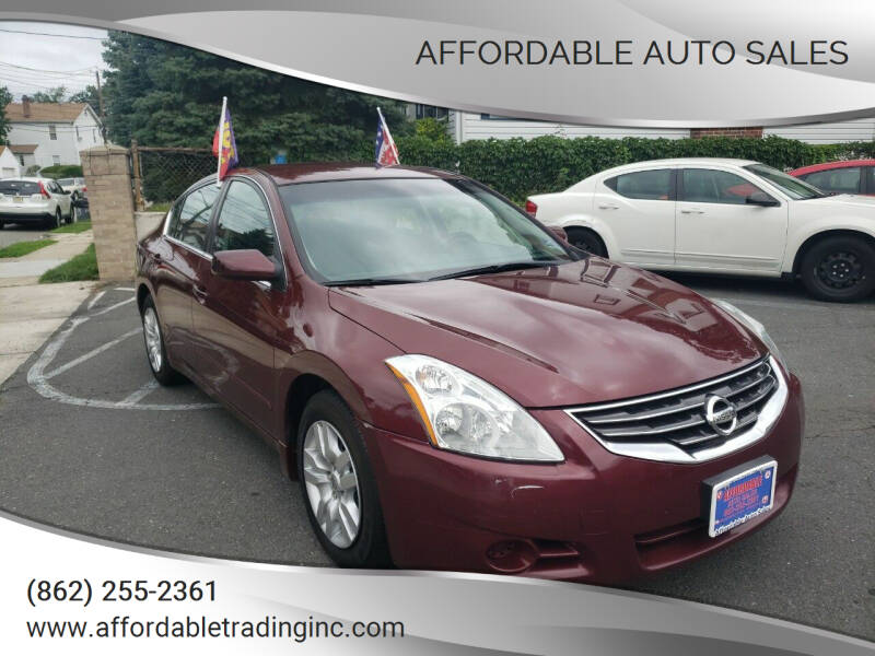 2012 Nissan Altima for sale at Affordable Auto Sales in Irvington NJ