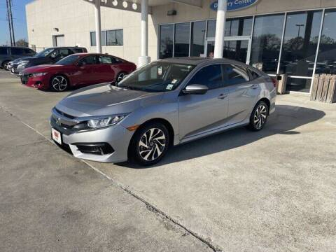 2018 Honda Civic for sale at J P Thibodeaux Used Cars in New Iberia LA