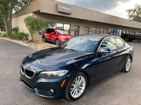 2014 BMW 2 Series for sale at Top Garage Commercial LLC in Ocoee FL