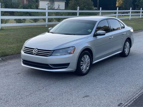 2014 Volkswagen Passat for sale at Two Brothers Auto Sales in Loganville GA