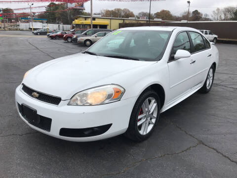 2012 Chevrolet Impala for sale at IMPALA MOTORS in Memphis TN