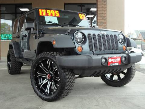 2007 Jeep Wrangler Unlimited for sale at Arandas Auto Sales in Milwaukee WI