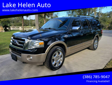 2014 Ford Expedition EL for sale at Lake Helen Auto in Lake Helen FL