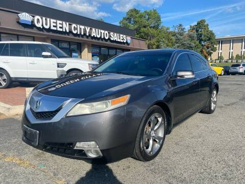 2010 Acura TL for sale at Queen City Auto Sales in Charlotte NC