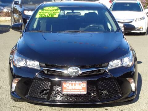 2017 Toyota Camry for sale at Vallejo Motors in Vallejo CA